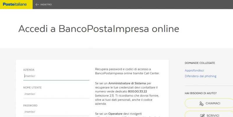 BancoPostaImpresaOnline, cos'è BPIOL, come funziona, login e assistenza