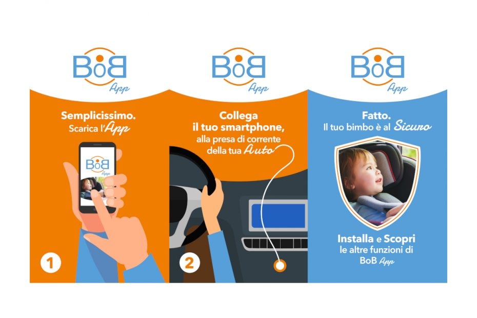 Dispositivo Anti Abbandono a Meno di 10 Euro! BoB App a Norma in 60 Secondi
